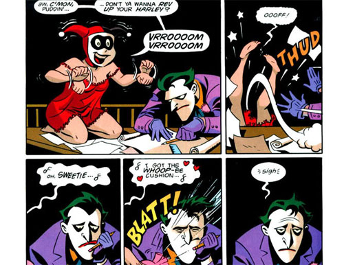 Mad Love comics