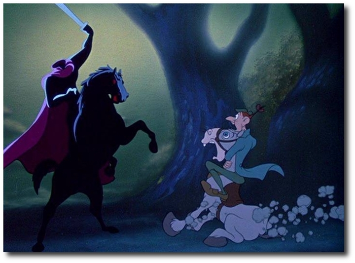 Ten Scariest Moments in Disney Films | Funk's House of Geekery Disney Headless Horseman