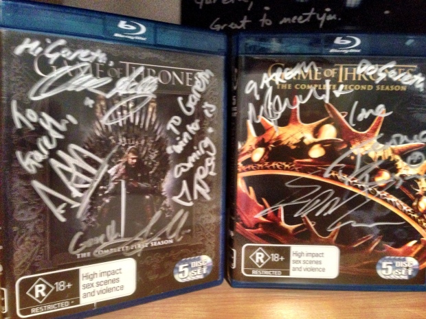 Game of Thrones signed House of Geekery