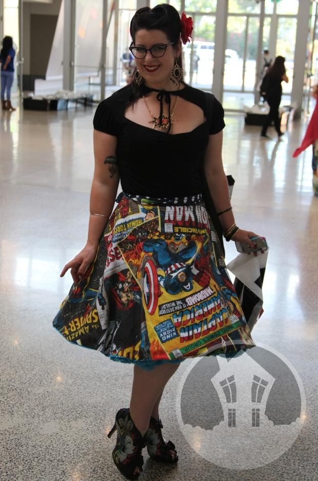 Marvel Skirt
