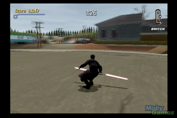 Tony Hawk Darth Maul
