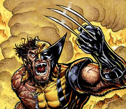 Wolverine angry