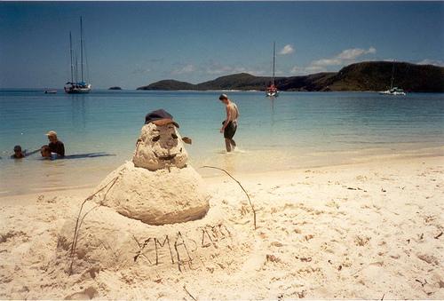 Australian Snowman