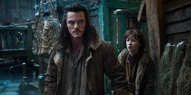 Bard the Bowman brings a much needed human presence to the movie