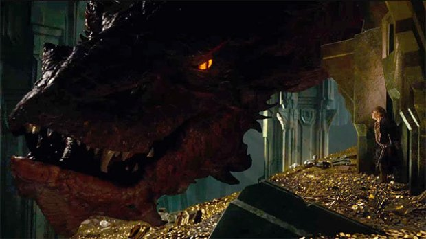 It comes as no surprise that the highlight of the movie is the confrontation with Smaug
