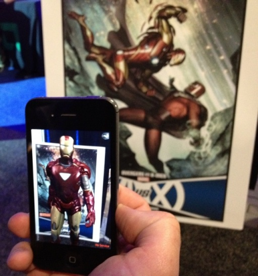 Marvel Augmented Reality App