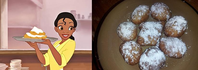 princess and the frog dessert