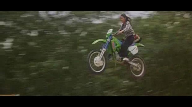 Michelle Yeoh Motorbike