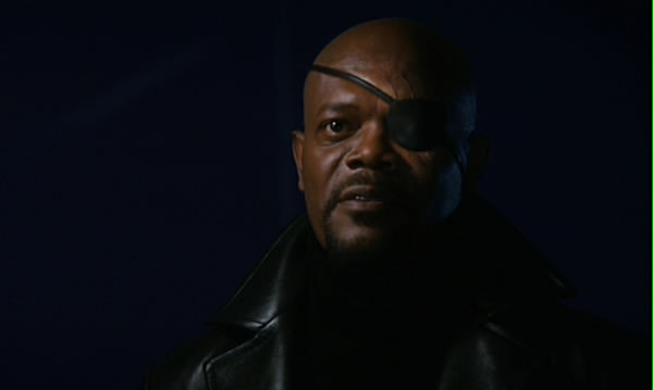 Nick Fury Iron Man