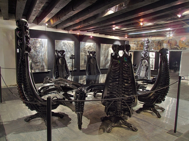 tribute hr giger funks house of geekery