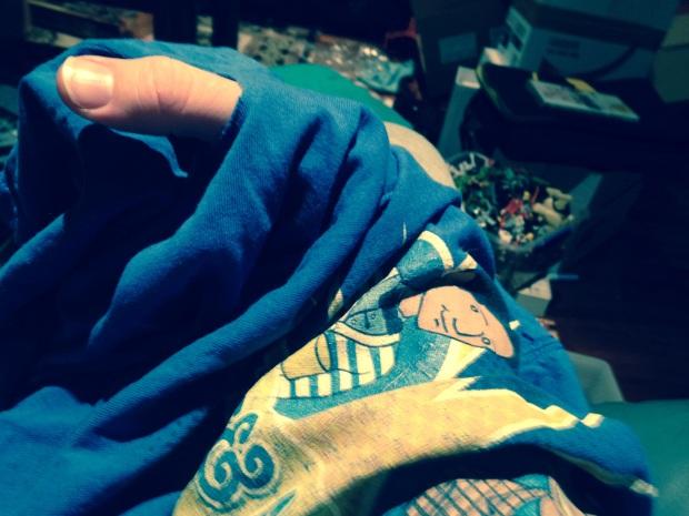 Funk's shirt