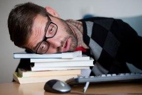sleeping-student