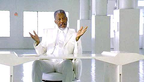 Morgan Freeman Bruce Almighty