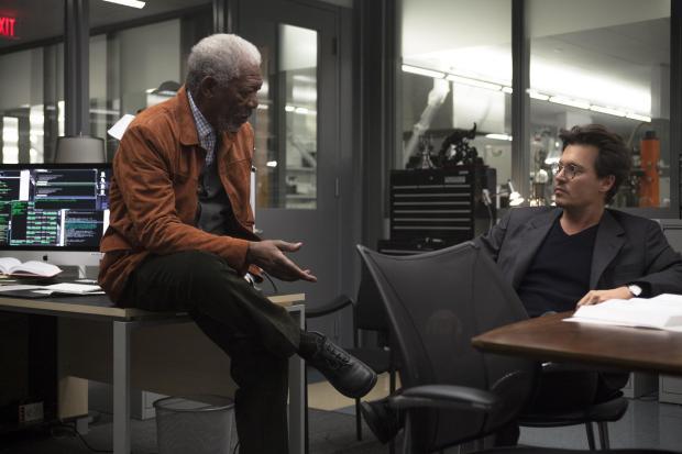 Morgan Freeman Transendence