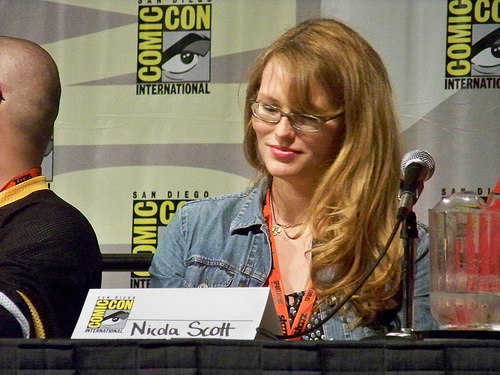 At San Diego Comic Con