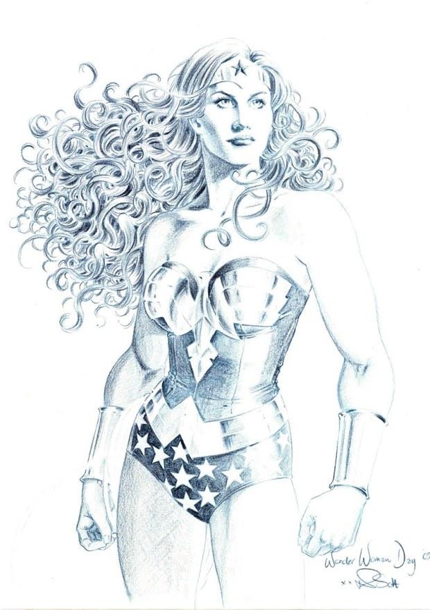 Nicola Scott Wonder Woman
