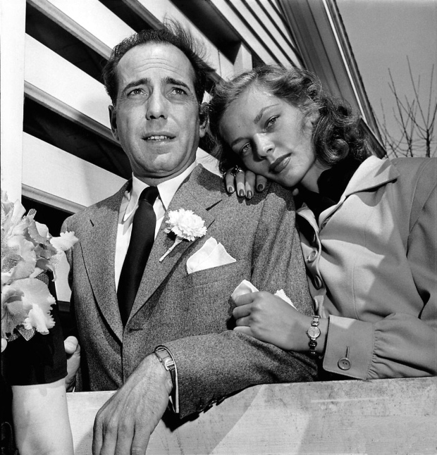 Bacall and Bogie