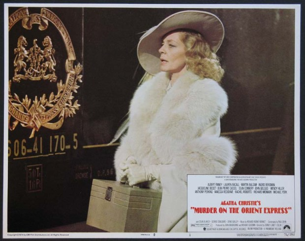 Lauren Bacall Murder on the Orient Express