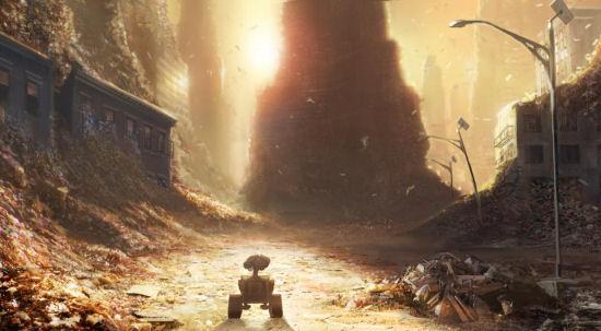 Wall-E Earth