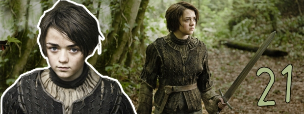 #21 Arya Stark