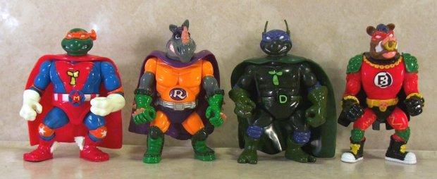 TMNT superheroes