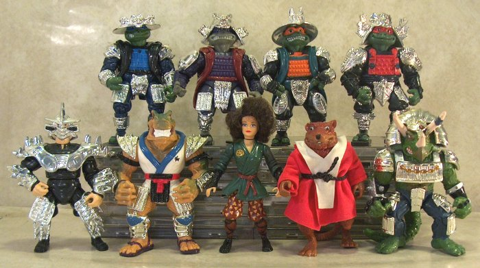 Looking Back On The Tmnt Action Figures Pt 3 We Re In A Scary