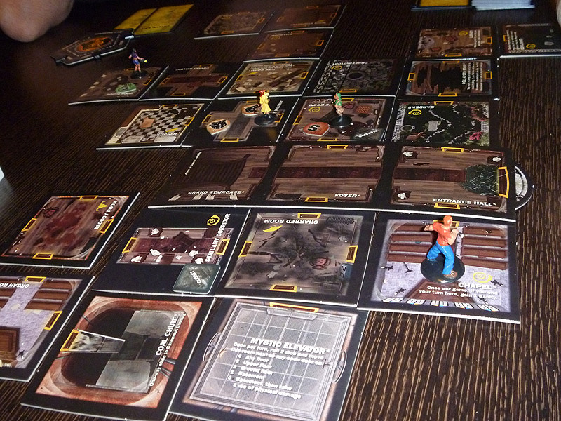 Rooms In Betrayal At House On The Hill