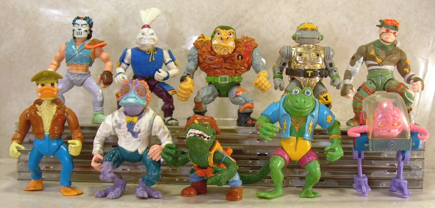 Looking Back At Tmnt Action Figures A Descent Into Madness Funk S