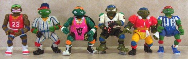Sports turtles