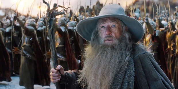 The anchor of both film trilogies, Sir Ian McKellen