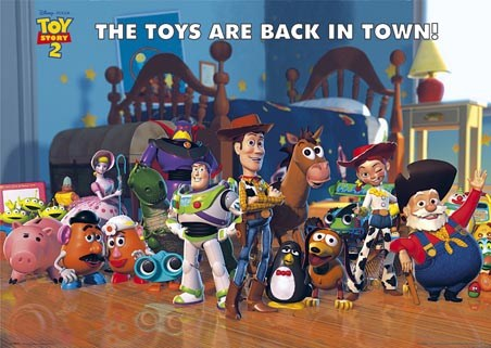 lgfp0741+the-toys-are-back-in-town-toy-story-2-poster