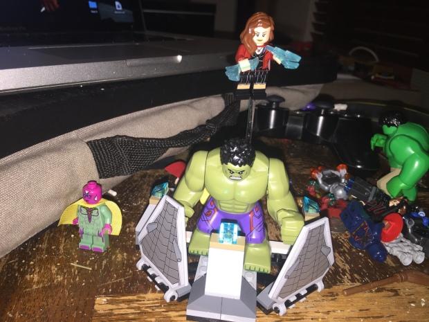 Lego Scarlet Witch Hulk