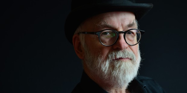 Terry Pratchett Portrait Shoot