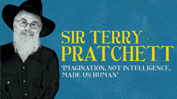 Sydney Opera House - Sir Terry Pratchett Imagination not Intelligence Made us Human