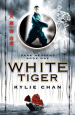 White Tiger, the first book in the Dark Heavens trilogy.