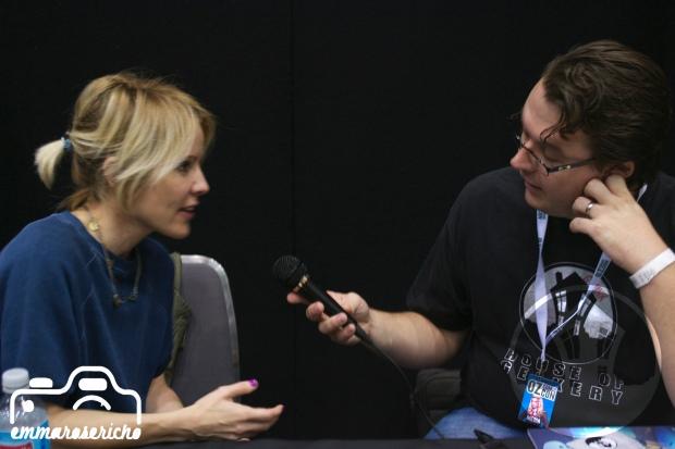 Emma Caulfield House of Geekery Oz ComicCon 1