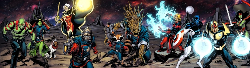 guardian-of-the-galaxy-comics-geekbrain-all-character-panarama