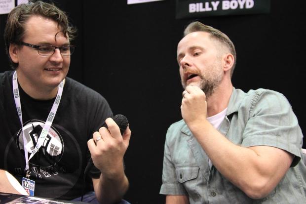 Billy Boyd Oz ComicCon House of Geekery
