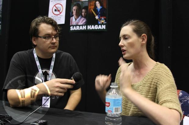 Sarah Hagan House of Geekery Oz ComicCon