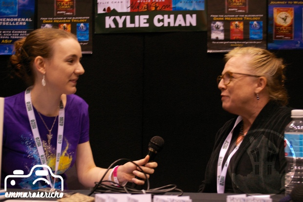 Kylie Chan Oz ComicCon House of Geekery