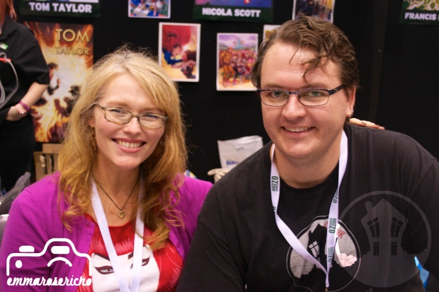 Nicola Scott OzComicCon House of Geekery 4