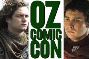 OzComicCon Finn Jones Daniel Portman House of Geekery