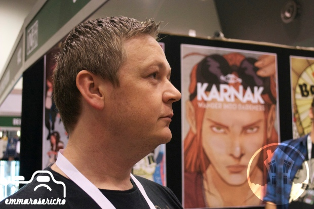 Wolfgang Bylsma House of Geekery OzComicCon 1