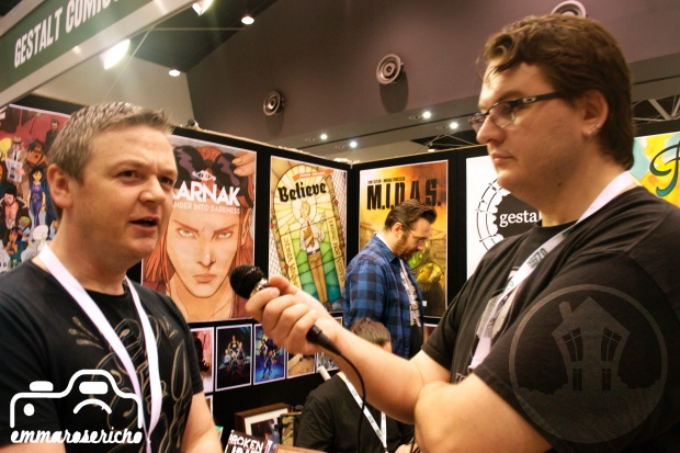 Wolfgang Bylsma House of Geekery OzComicCon 2