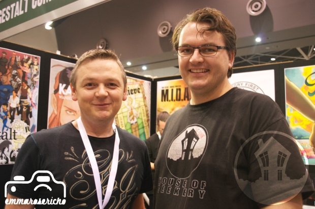 Wolfgang Bylsma House of Geekery OzComicCon 3