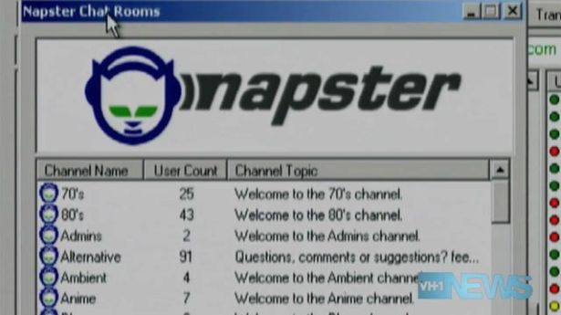 downloaded napster