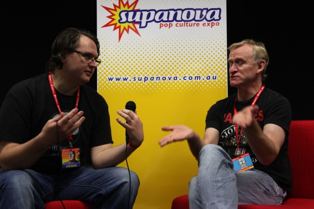 Dean Haglund House of Geekery Supanova
