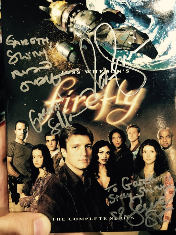 Firefly autographed
