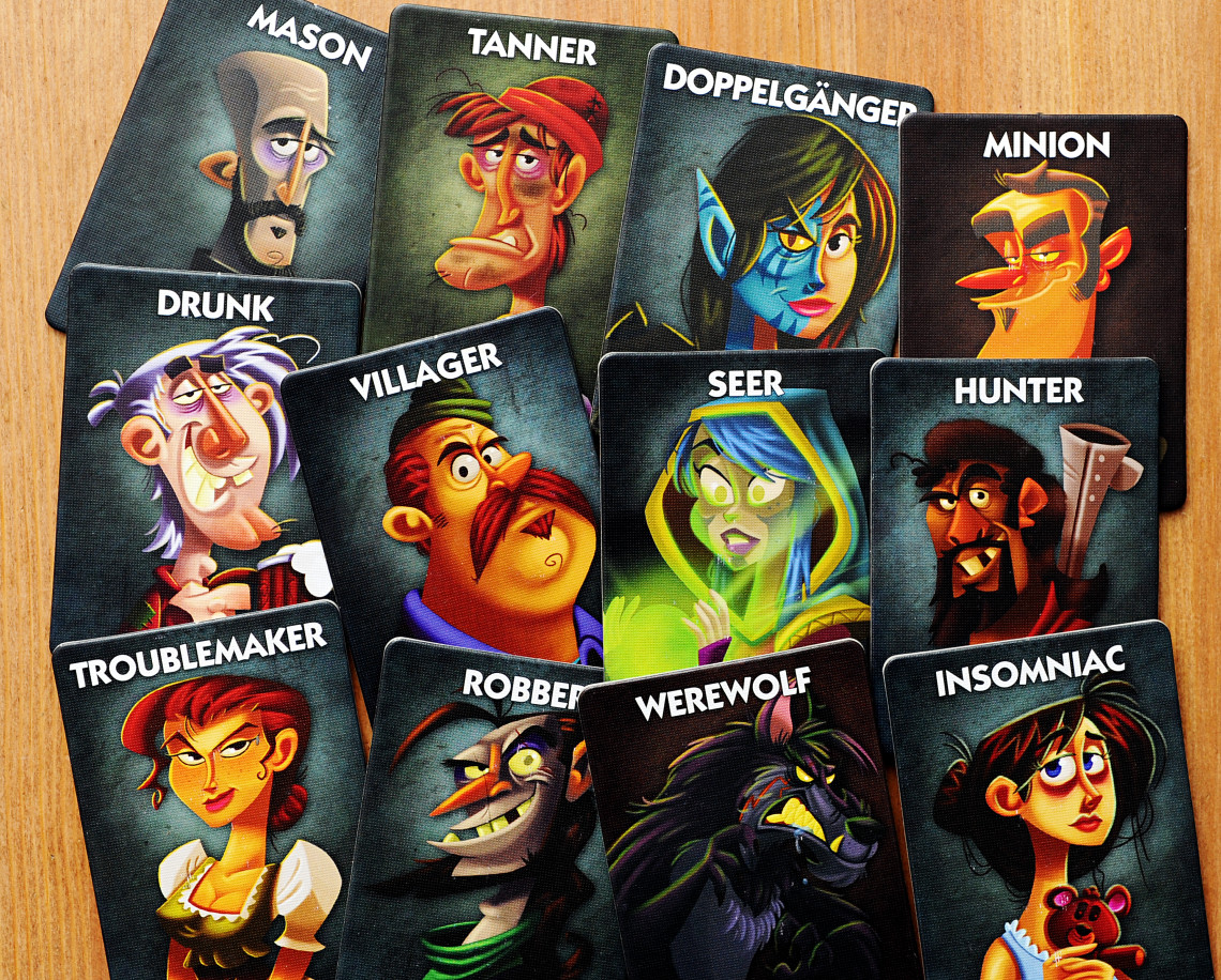 One Night Ultimate Werewolf Instructions - Wolfa 1140x916