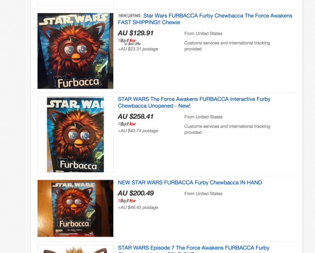 Star Wars furby